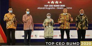 Top BUMD 2020 Bank Jombang Tiga