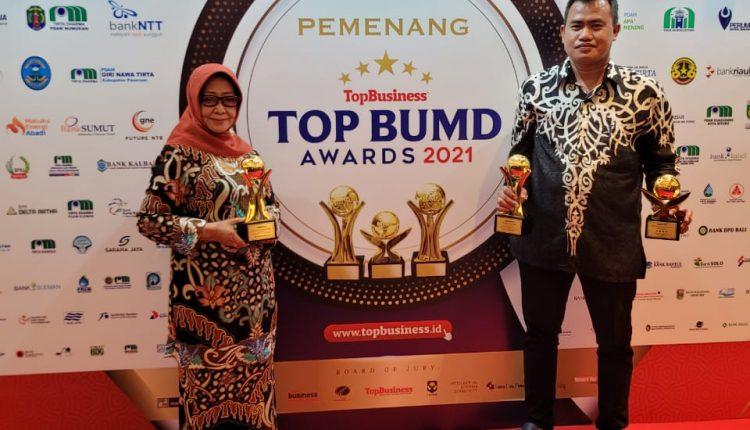 Bank Jombang Top BUMD Awards 2021